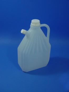 3 Liter Schnabelkanister, PE, natur,