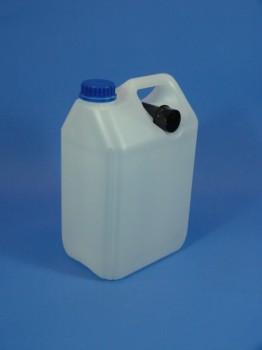 5 Liter Leichtkanister, PE, natur, 120g