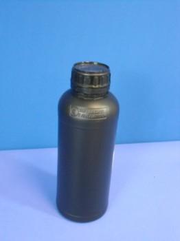 1 Liter Flasche COEX, rund, schwarz,