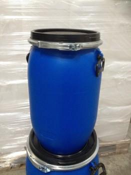 30 Liter SDFass, PE, blau, rund, 1,8kg