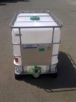 640 Liter Container, PE, natur, DN50