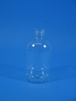 300 ml Flasche B, PET, klar, rund, 25 g,