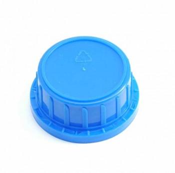 Verschluss DIN 45, PP, blau,