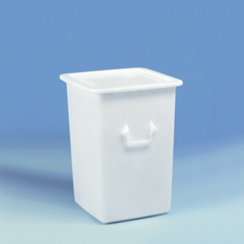125 Liter Großbehälter, HDPE, natur,