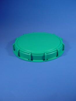 225 mm Deckel grün für 1000 ltr IBC