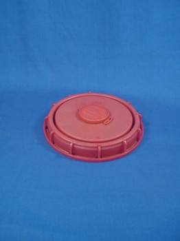 225 mm Schraubdeckel, PP, rot,