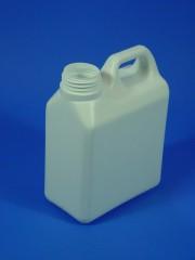 1 Liter Kanister KM, PE, weiß, 65g