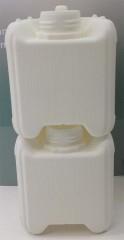 1 Liter Kanister, PE, weiß, 90g