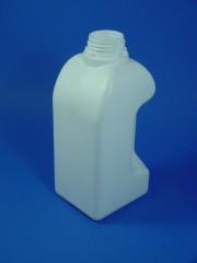2 Liter Griffkanister, PE, weiß, 118g