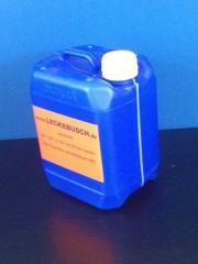 5 Liter Kanister, PE, blau, fluoriert,