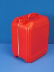 5 Liter Kanister, PE, rot, 200g