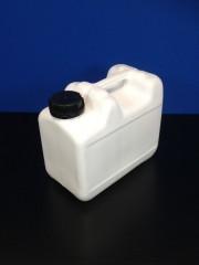 5 Liter Kompaktkanister, PE, weiß, 320g