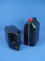 5 Liter Ölkanister, PE, schwarz, 140g