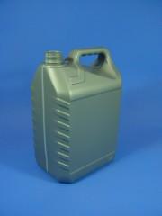 5 Liter Ölkanister, PE, silber, 160g