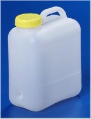 10 Liter Wasserkanister, PE, natur,