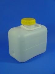 10 Liter Bügelkanister, PE, natur,