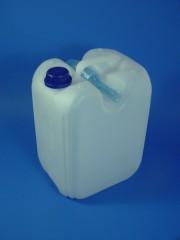 10 Liter Kanister, PE, natur, 400g