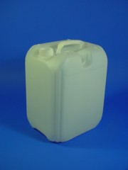 10 Liter Kanister, PE, natur, 380g