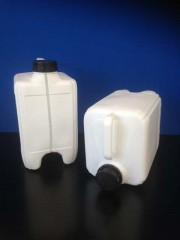 10 Liter Kanister R, PE, weiß, 465g