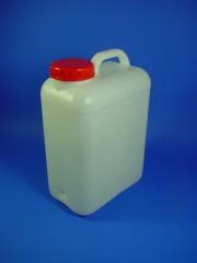 16 Liter Wasserkanister, PE, natur,