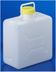 16 Liter Bügelkanister, PE, natur,
