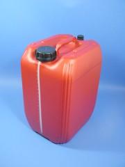 20 Liter Kanister, PE, dklrot, 760g