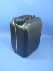 20 Liter Kanister, PE, schwarz, 760g