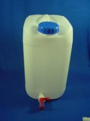 25 Liter Wasserkanister, PE, natur, 950g