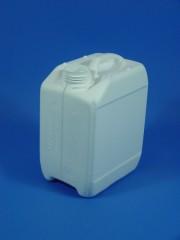 2,5 Liter Kanister, PE, weiß, 120g