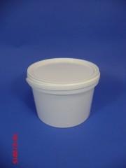 3,1 Liter Eimer OV, PP, weiß, rund,