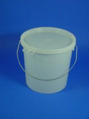 5 Liter Eimer, PP, natur, rund-konisch,