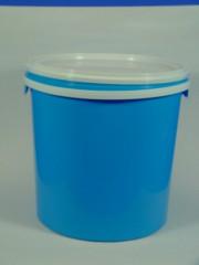 10 Liter Eimer, PP, hellblau, RZ rundzyl