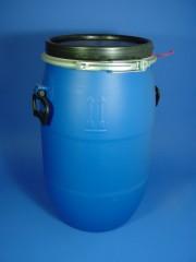 30 Liter SDFass, PE, blau, rund, 2,12 kg