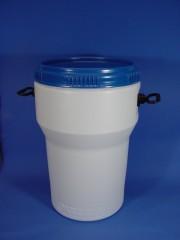40 Liter Schraubdeckelfass, PE, weiß,