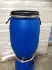 60 Liter SDFass, PE, blau, rund, 3,15kg