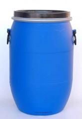 60 Liter SDFass, PE, blau, rund, 3,4kg