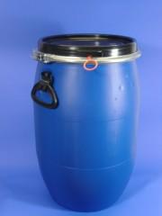 60 Liter SDFass, PE, blau, rund, 3,0 kg