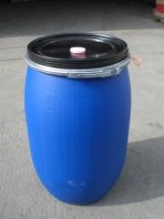 120 Liter SDFass, PE, blau, rund, 6,9 kg