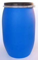 120 Liter SDFass, PE, blau, rund, 4,5kg