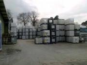 1.000 Liter Container, PE, natur,