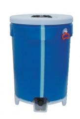 400 ltr Conipac , PE,  blau, rund,