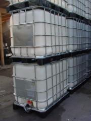 640 Liter Container, PE, natur,