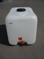 640 Liter Containerblase, PE, natur,