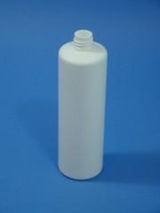 250 ml Flasche B, PE, weiß, rund, 20g