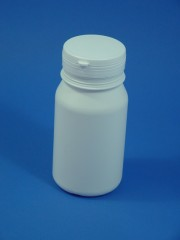 500 ml Runddose CP, HDPE, weiss,