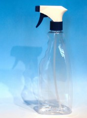 500 ml Sprühflasche S, PET, klar, 29 g,