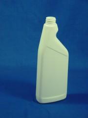 500ml TAP Sprühflasche, PE, weiß, rund,