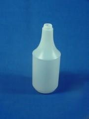 1000ml Sprühflasche C, PE, natur, rund