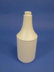 1000ml Sprühflasche C, PE, weiß, rund