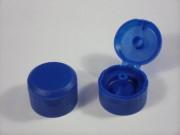 Verschluss DIN 28/400, PP, blau,